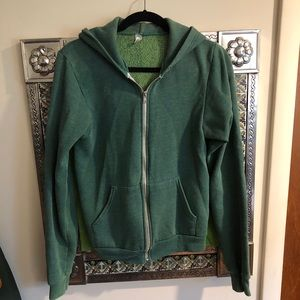 🎃American Apparel zip up hoodie